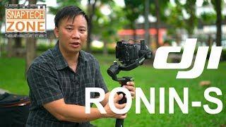 รีวิว DJI Ronin S กิมบอลกันสั่นกล้อง DSLR, Mirrorless แบบละเอียดยิป [SnapTech Review EP40]