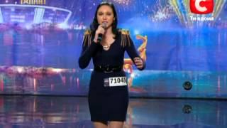 Наталья Олейник «Україна має талант-5» Кастинг во Львове