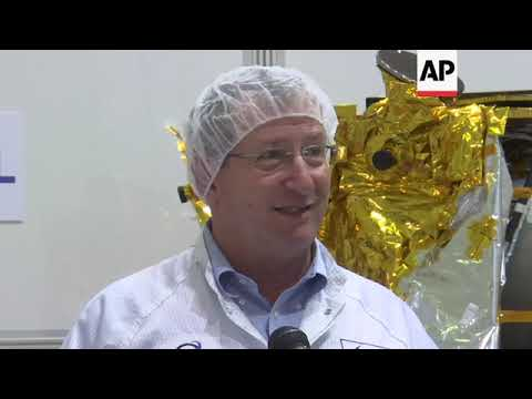 Israeli unmanned spacecraft prepares for launch
