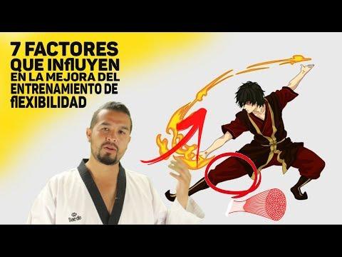 Cómo ganar flexibilidad para taekwondo  | factores de entrenamiento