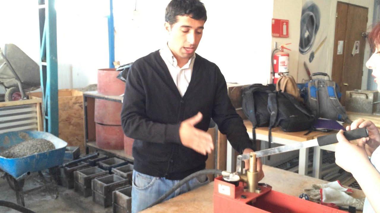 Prueba de presi n de agua potable talca youtube for Agua potable