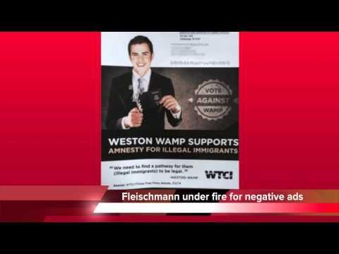 Weston Wamp burns passport in negative Chuck Fleischmann ad