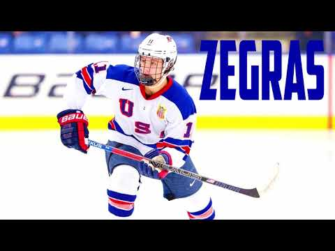 2018-2019 season highlights of Trevor Zegras.