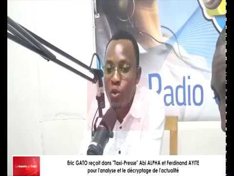 Eric GATO reçoit comme invités du débat Ferdinand AYITE et Abi ALPHA dans « Taxi-Presse »