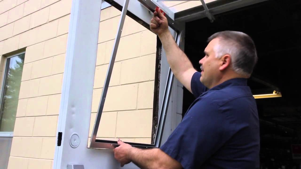 Service Door Screen Insert Installation Youtube
