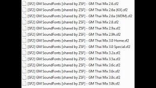 แจกซาวด์ฟร้อน Gm Thai Mix 14 ตัว ลิงค์ดาวโหลดใต้ Vdo