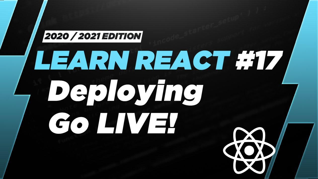 Learn React: Deploying your first React App in 16 minutes! (Amplify + R53)