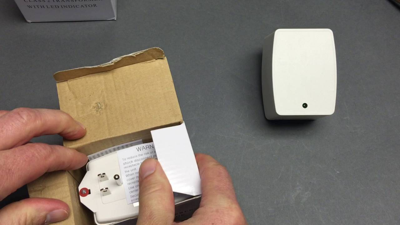 Unboxing an MB branded 24 Volt transformer for testing with Ring Video  Doorbell Pro
