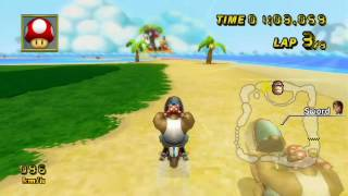 [MKW] GBA Shy Guy Beach - 1:21.609 - Sωοrd (Live)