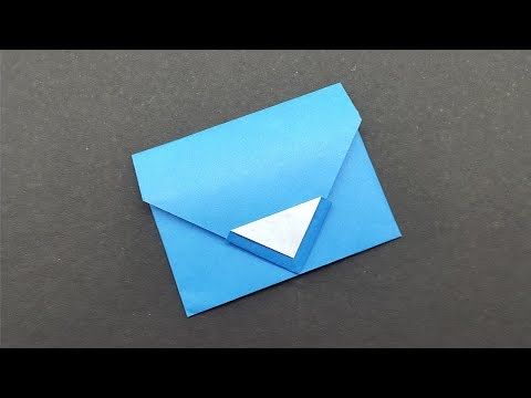 Make Envelope with Paper (No Glue Tape and Scissors) at Home