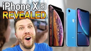 New 2018 iPhone Xs, Xs Max, and Xr REVEALED! Awesome, but Expensive!