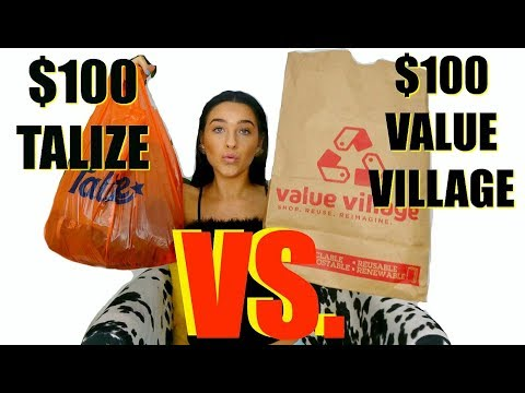 $100 At Value Village  VS. $100 At Talize... Which Thrift Store Is Better?