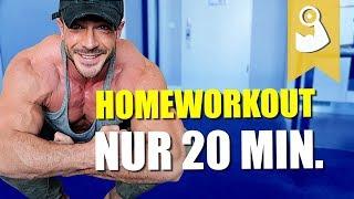 Oberkörper Homeworkout ohne Equipment