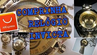 RELÓGIO INVICTA RÉPLICA-ALIEXPRESS