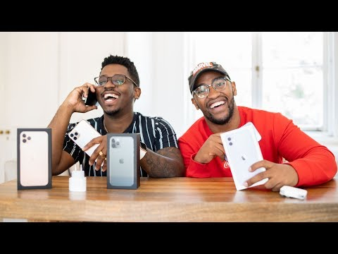 IPhone 11, 11 Pro & 11 Pro Max Unboxing | #ArcadeZA