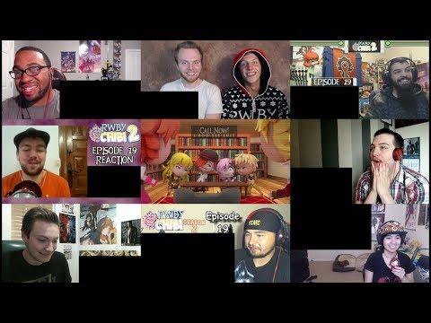 RWBY Chibi Episode 23 (Dance Dance Caffeine) - Large Reaction