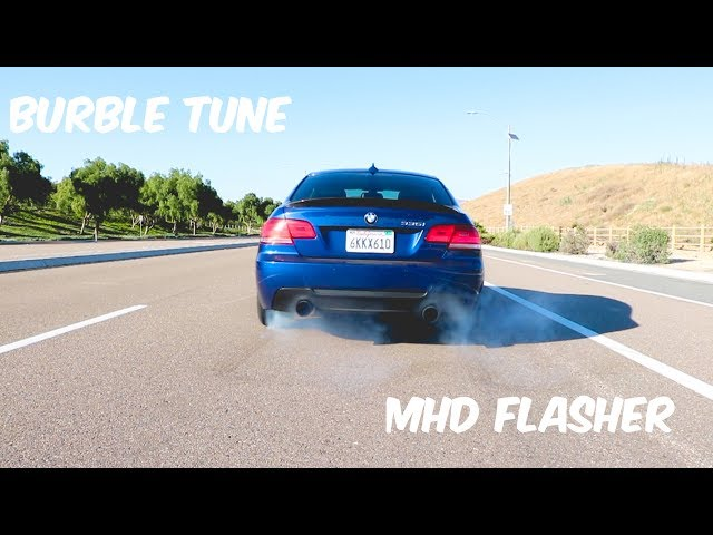 MHD BMW N54 flashing