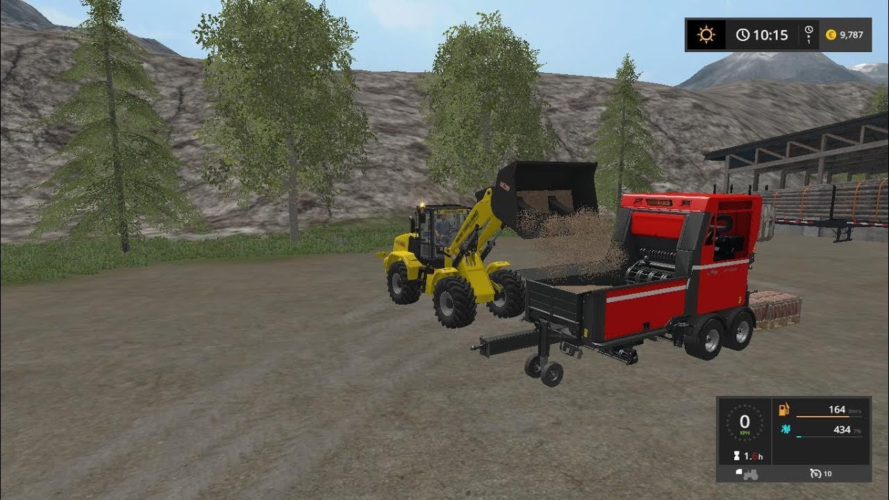 how to make wood chips in farming simulator 17