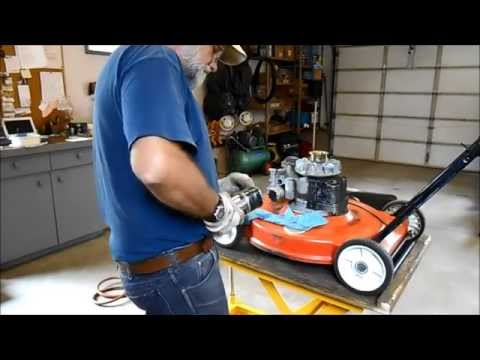 Repairing A Non Starting Older Tecumseh 3.5 HP Mower