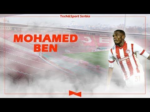 Ben Mohamed - Analiza igre   FK Crvena zvezda