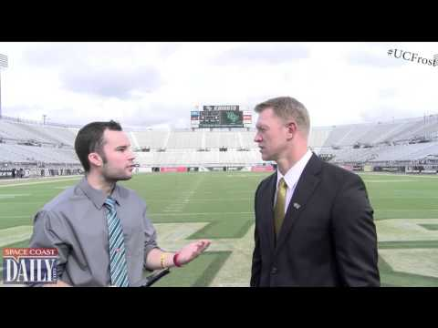 1-on-1 Interview With UCF Head Coach Scott Frost