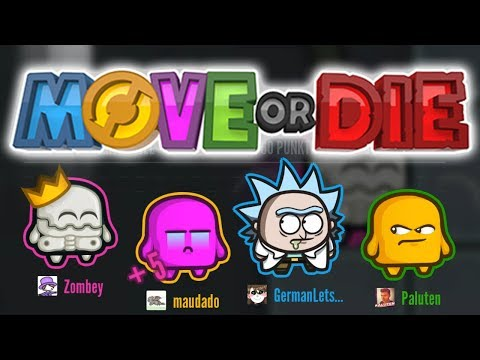 Hektische Minispiele! | Move or Die