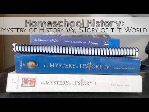 Homeschool History: Mystery of History and Story of the World