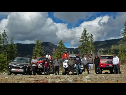 Norcal Overlanders - Eagle Lakes Camping - TRD Tacomas - Jeep CJ - Trail Edition 4runner