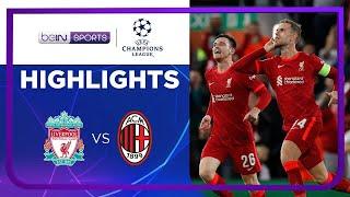 Liverpool 3-2 AC Milan | Champions League 21/22 Match Highlights