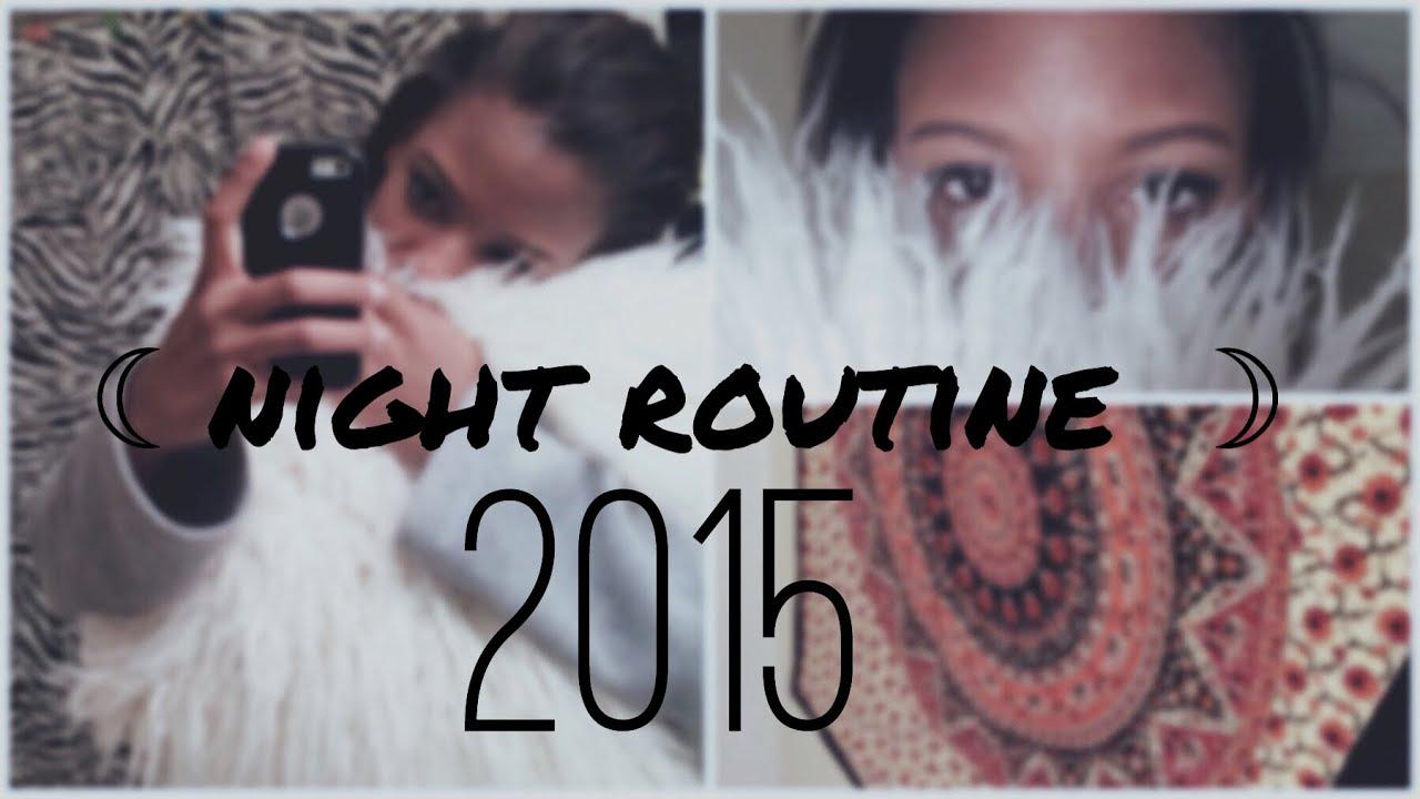 NIGHT ROUTINE 2015 - YouTube