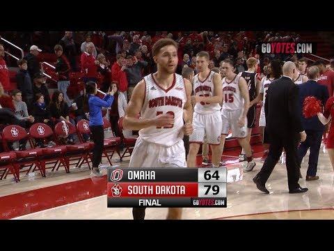MBB Highlights: South Dakota 79, Omaha 64