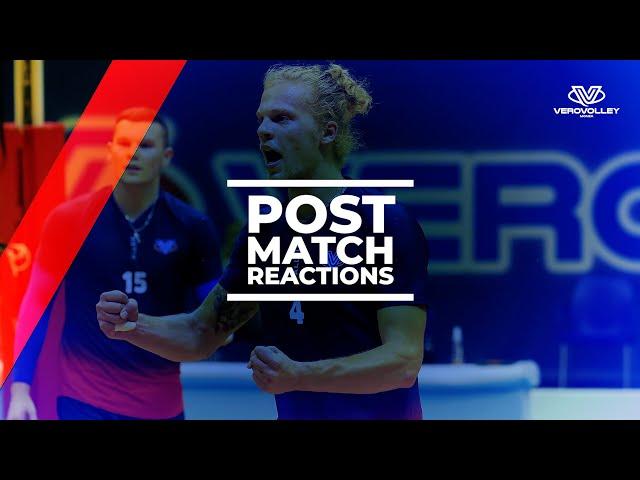 Donovan Dzavoronok post test-match con Verona