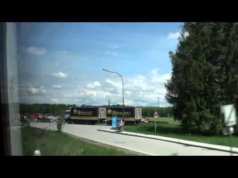 2012 Euro Travel #21 - Austria #09 - Train & Taxi ride from Vienna to Mauthausen