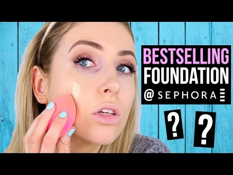 Sephora's BESTSELLING Foundation: WORTH THE HYPE?! || First Impression Friday