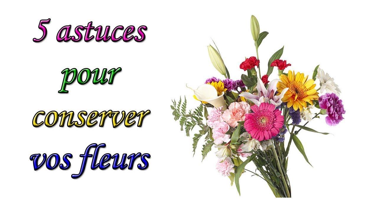 5 astuces pour conserver ses fleurs coup es youtube. Black Bedroom Furniture Sets. Home Design Ideas