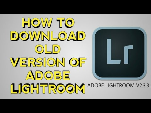 lightroom old version free download for android