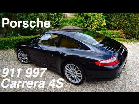 Porsche 911 (997) Carrera 4S - Ride, Acceleration, Revs - 355ch ! LOUD