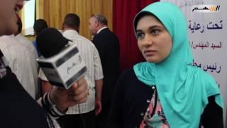 بالفيديو ..السهم نيوز تلتقي بطالبات بني سويف بعد نسيانهم في التكريم