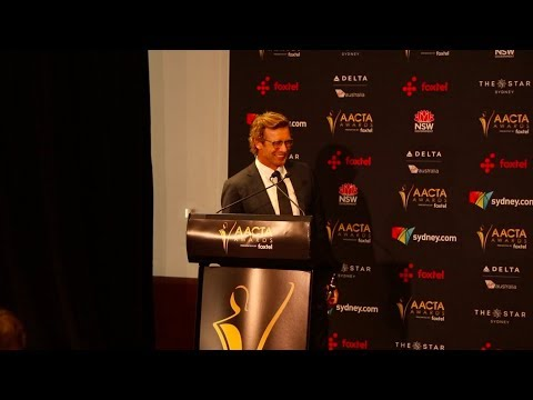 7th AACTA Trailblazer Award - Simon Baker