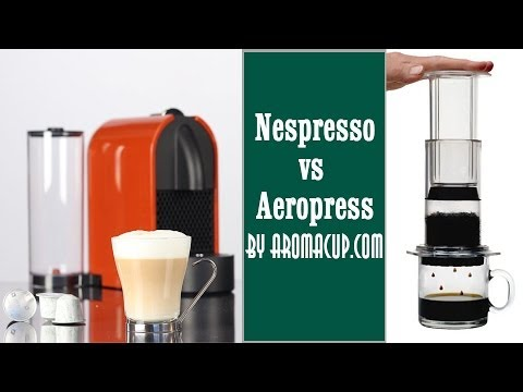 Nespresso vs AeroPress Amazon Best Sellers Coffee Machines Comparison - YouTube