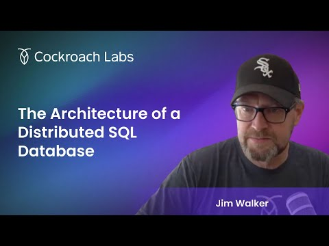 What is the architecture of a Distributed SQL Cloud Database?