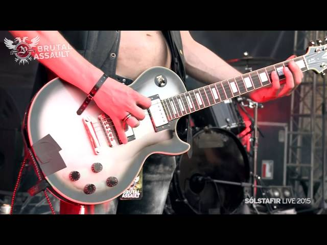 Great Proshot footage from Brutal Assault 2015