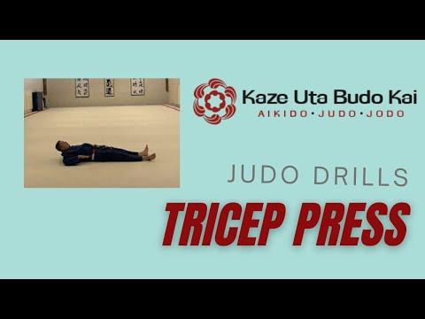 judo drill down push