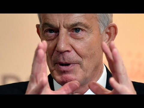 video: Tony Blair gave a speech on the state of British politics... and he sounded close to despair