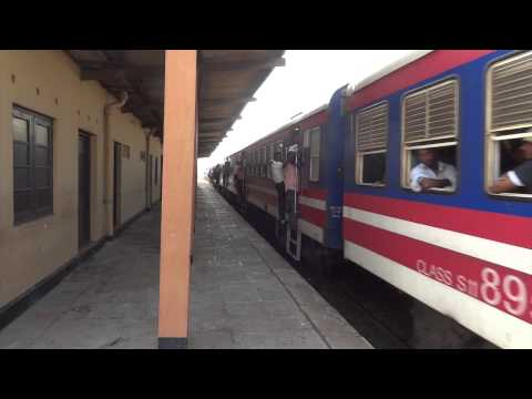 Bambalapitiya  Railway Station  Colombo Sri Lanka 2012