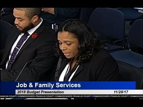 2018 Budget Hearing - Job And Family Services
