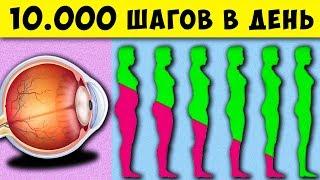 постер к видео Что будет если Ходить 10000 шагов Каждый день! И как влияет на Зрение