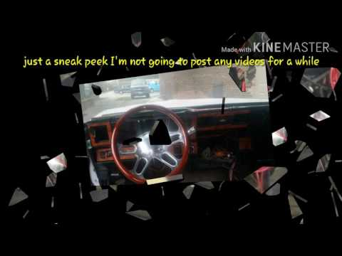 Box Chevy Caprice Steering Column Update And Dash