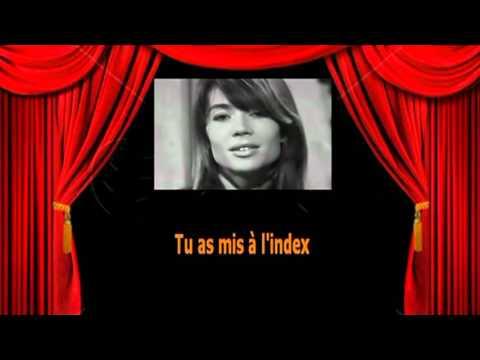 Karaoké Françoise Hardy -  Comment te dire adieu