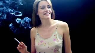 Smoking multiples in public fetish